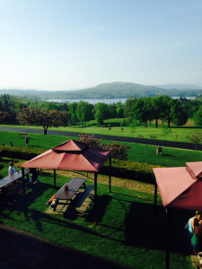 View of the Kripalu grounds.